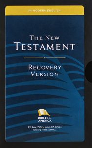 Picture of New Testament Recovery Version free study Bible